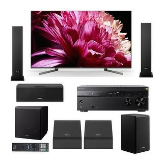 "Sony X950G 65"" Class BRAVIA 4K HDR UHD Smart TV Home Theater System"