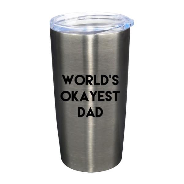 Worlds Okayest Dad Bottle Opener