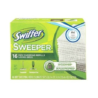 Swiffer 31821 Dry Disposable Sweeping Cloths, 16-Count