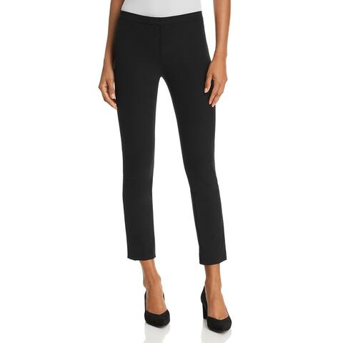 Theory Womens Skinny Pants Classic Fit Mid-Rise