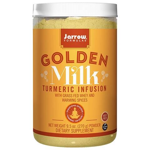 Jarrow Formulas Turmeric Infusion + Warming Spices Golden Milk 9.5 oz. powder