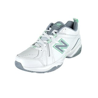 New Balance WX608 Women 2A Round Toe Synthetic White Cross Training