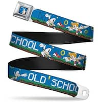 Sonic Classic Sonic Standing Pose Full Color Black Blue Sonic & Tails Poses Seatbelt Belt