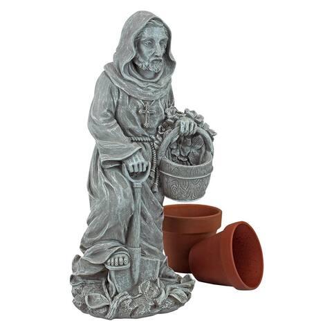 Small St Fiacre Gardeners Patron Statue
