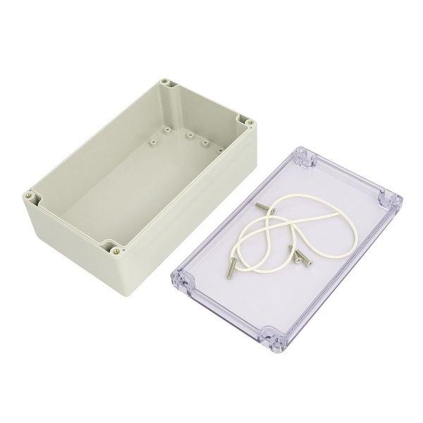 190mmx185mmx100mm Plastic Dustproof IP65 Junction Box Electric Project Enclosure