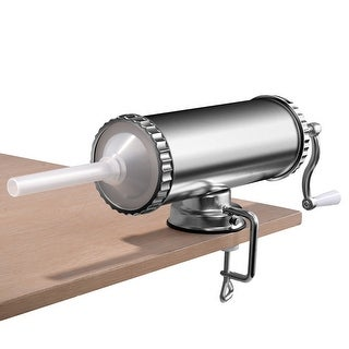 Costway 3L Manual Sausage Stuffer Maker Meat Filler Machine w/ Suction Base Commercial