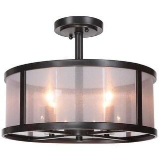 Craftmade 36754 Danbury 4 Light Semi-Flush Ceiling Fixture