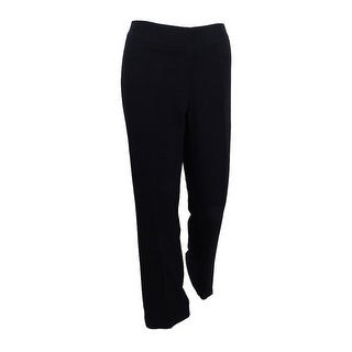 Kasper Women's Curvy Fit Pants - Black