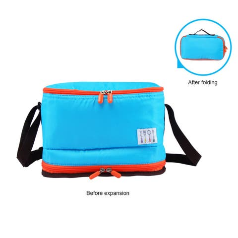 Lunch Bags Insulated Cold Insulation Heat Folding Large Capacity Aluminum Foil Handbag