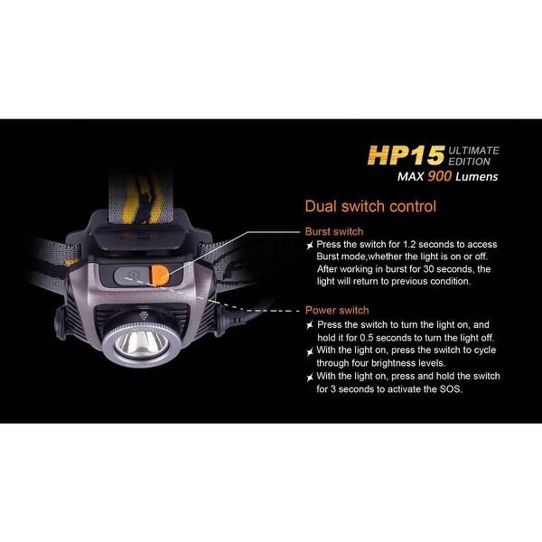 HP15 Ultimate Edition Fenix Color Grey
