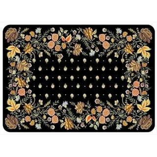 20491082231 Palazzo Mat in Onyx - 1.83 ft. x 2.58 ft.