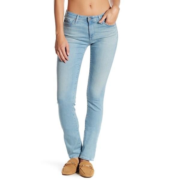 54574d83a563 Shop AG Blue Womens Size 31x32 The Harper Essential Straight Leg ...