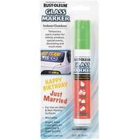 Rust-Oleum 2/3Oz Green Glass Marker 267967 Unit: EACH