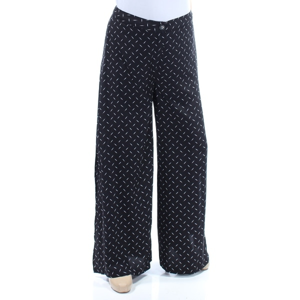 f822a35025 Shop KENSIE Womens Black Geometric Wear To Work Pants Size  S - Free  Shipping On Orders Over  45 - Overstock - 21390260