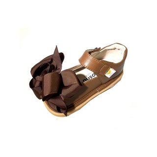 Mooshu Trainers Little Girls Chocolate Ready Set Squeaky Mary Janes