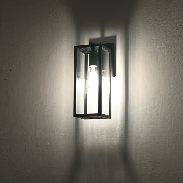Starlee Tall Box Outdoor Wall Fixture by Havenside Home. Opens flyout.