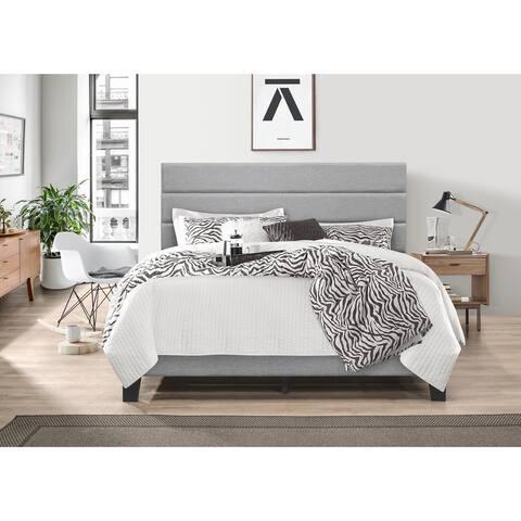 Akron Upholstered Platform Bed
