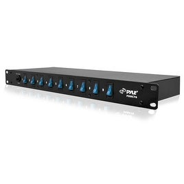 15 Amp Power Supply Power Strip with 1800VA Rack Mountable 9 Outlets
