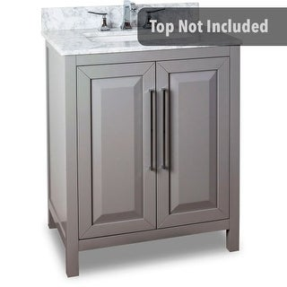 Jeffrey Alexander VAN100-30 29-11/16 Inch Single Free Standing Hardwood Vanity Cabinet Only from the Cade Contempo Collection