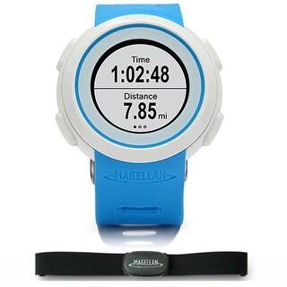 Magellan Echo Blue Smart Fitness Watch w/ Heart Rate Monitor