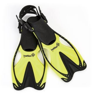 Ivation Adult Swim Fins - for Diving,Snorkeling, Swimming & Watersports