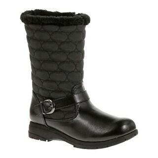 Soft Style Women's Pixie Winter Boot Black Vylon/Vitello