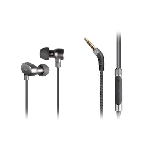 Monoprice HR-3 High Resolution In Ear Earphones - Aluminum With Triple Drivers, Incredible Sound, 3 Button In-Line Controls
