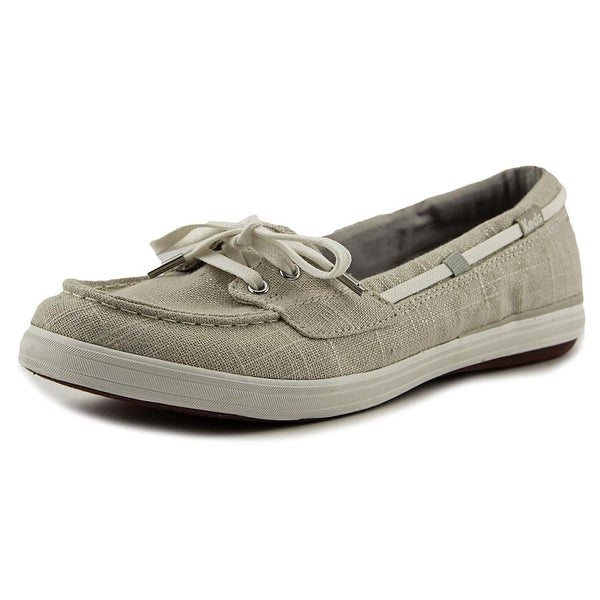 Keds Glimmer Women Round Toe Canvas Gray Loafer
