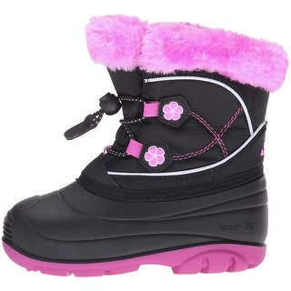 Kamik Baby Girl pebble Lace Up Boots