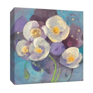"""PTM Images 9-152521  PTM Canvas Collection 12"""" x 12"""" - """"Papaver II"""" Giclee Flowers Art Print on Canvas"""