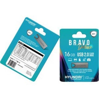 Hyundai Technology MHYU2A16GASG 16 GB Bravo Deluxe USB 2.0, Gray