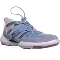 Jambu Azalea Round Toe Slip On Sneakers, Blue