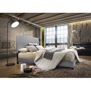 Link to HM1001-PU-GR Charlotte Similar Items in Bedroom Furniture
