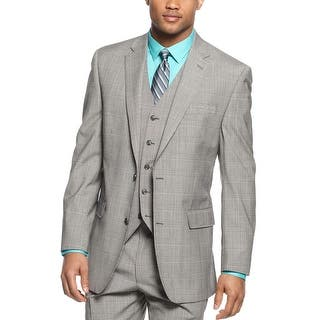 Sean John Black and White Plaid Blazer 38 Regular 38R Sportcoat 2-Buttons|https://ak1.ostkcdn.com/images/products/is/images/direct/d3c34e4ff26bfe4305722af4602a2173e7b67136/Sean-John-Black-and-White-Plaid-Blazer-38-Regular-38R-Sportcoat-2-Buttons.jpg?impolicy=medium