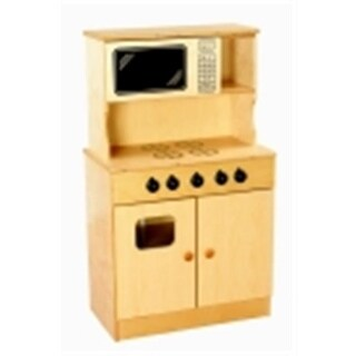 Traditional Play Stove And Microwave Combo