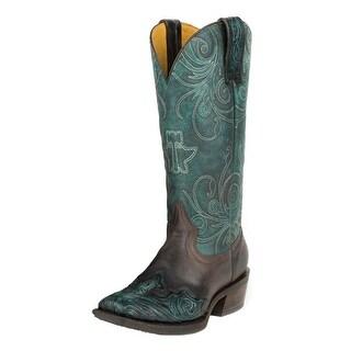 Tin Haul Western Boot Womens Blue Heaven Blue