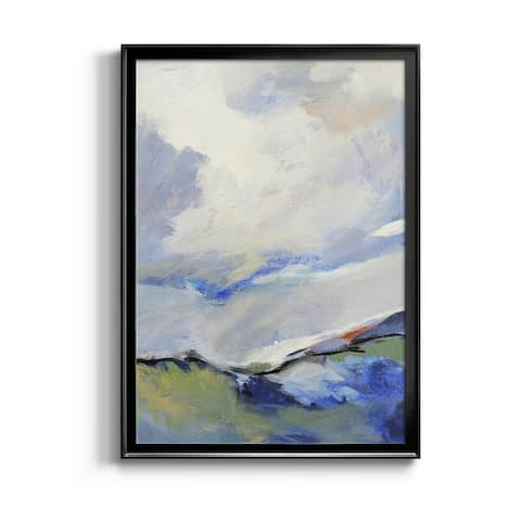 AROUND THE CLOUDS III Premium Framed Canvas - Ready to Hang