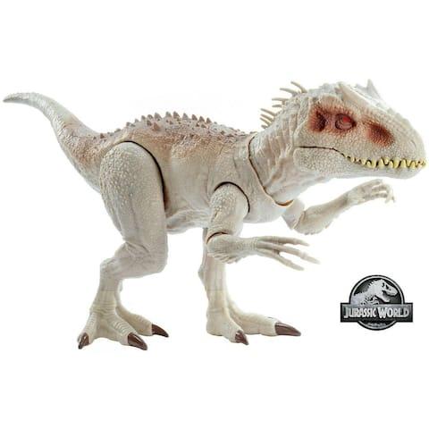 World Destroy Indominus Rex Chomping Mouth Realistic Sounds Plastic