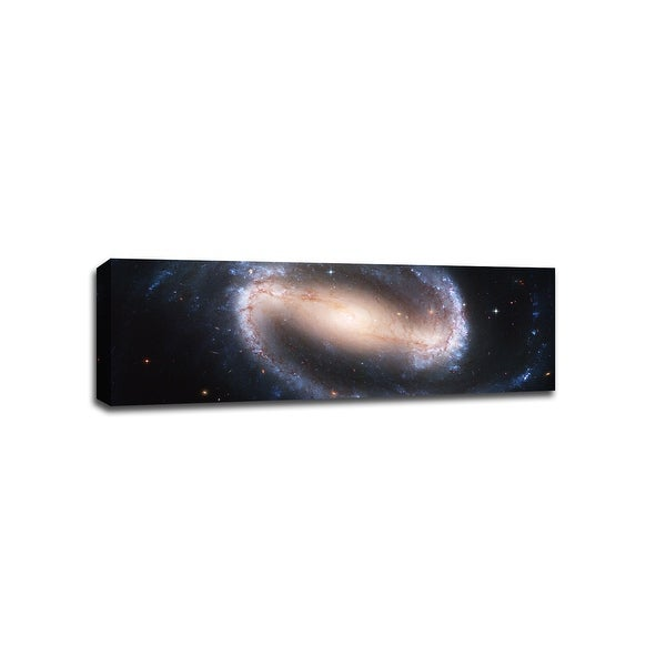 Spiral Galaxy - Space - 48x16 Gallery Wrapped Canvas Wall Art