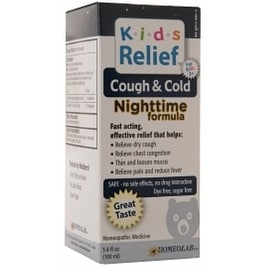 Homeolab USA Kids Relief Cough & Cold Nighttime 3.4 oz