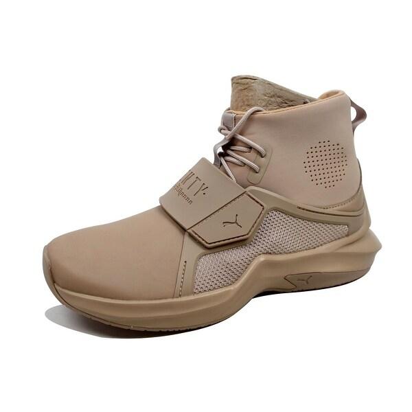Puma Fenty Trainer Hi Sneakers By Rihanna Cypress Green Size 10