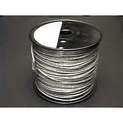 Full Roll of 500 Feet No.8 Braided Framing Wire 45 Lb Max Weight - Silver