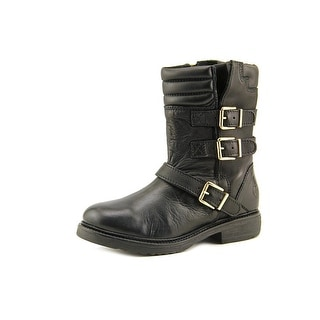 Bronx Tone Down Women Round Toe Leather Boot