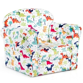 Link to Gymax Toddler Children Single Sofa Armrest Chair Furniture Cute Gift Similar Items in Kids Accent Chairs
