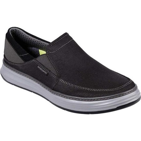 Shop Skechers Men's Moreno Welmer Loafer Black On Sale