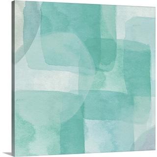 """Beach Glass I"" Canvas Wall Art"