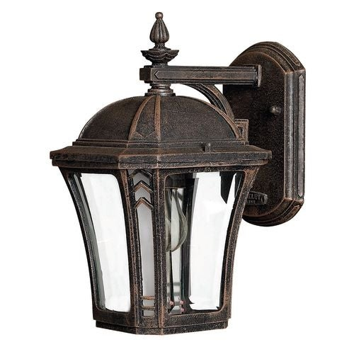 "Hinkley Lighting H1336 10.5"" Height 1 Light Lantern Outdoor Wall Sconce from the Wabash Collection"
