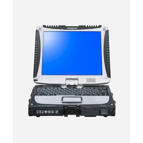 Toughbook 10.1-inch (Anti-Glare 1024 x 768) 2.5GHZ Core i5 160 GB Hard Drive 2 GB Memory - Black