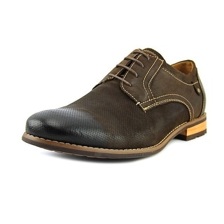 Steve Madden Cherp Men Round Toe Leather Brown Oxford