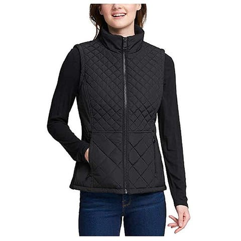 Andrew Marc Women Quilted Insulated Vest Jacket